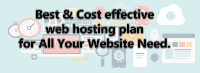 Cost effective web hosting plan