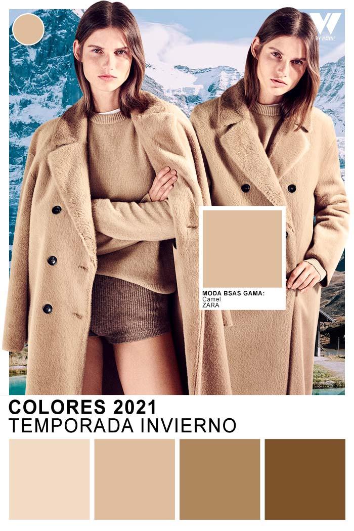 Colores tendencia otoño invierno 2021