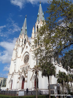 St John's Catholic Church in Savannah