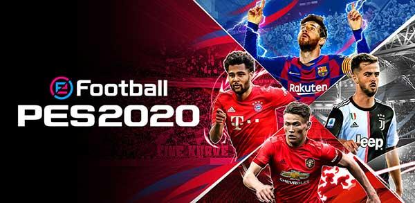 لعبة بيس 2020 كرة القدم eFootball PES 2020 4.0.2 Online للاندرويد باصدارها الكامل (APK+Data)