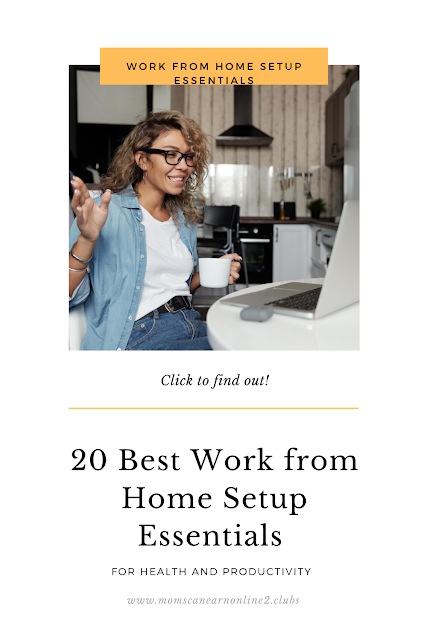 Work from Home Setup Essentials