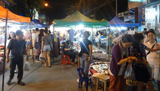 Sunday Night Market de Chiang Mai.