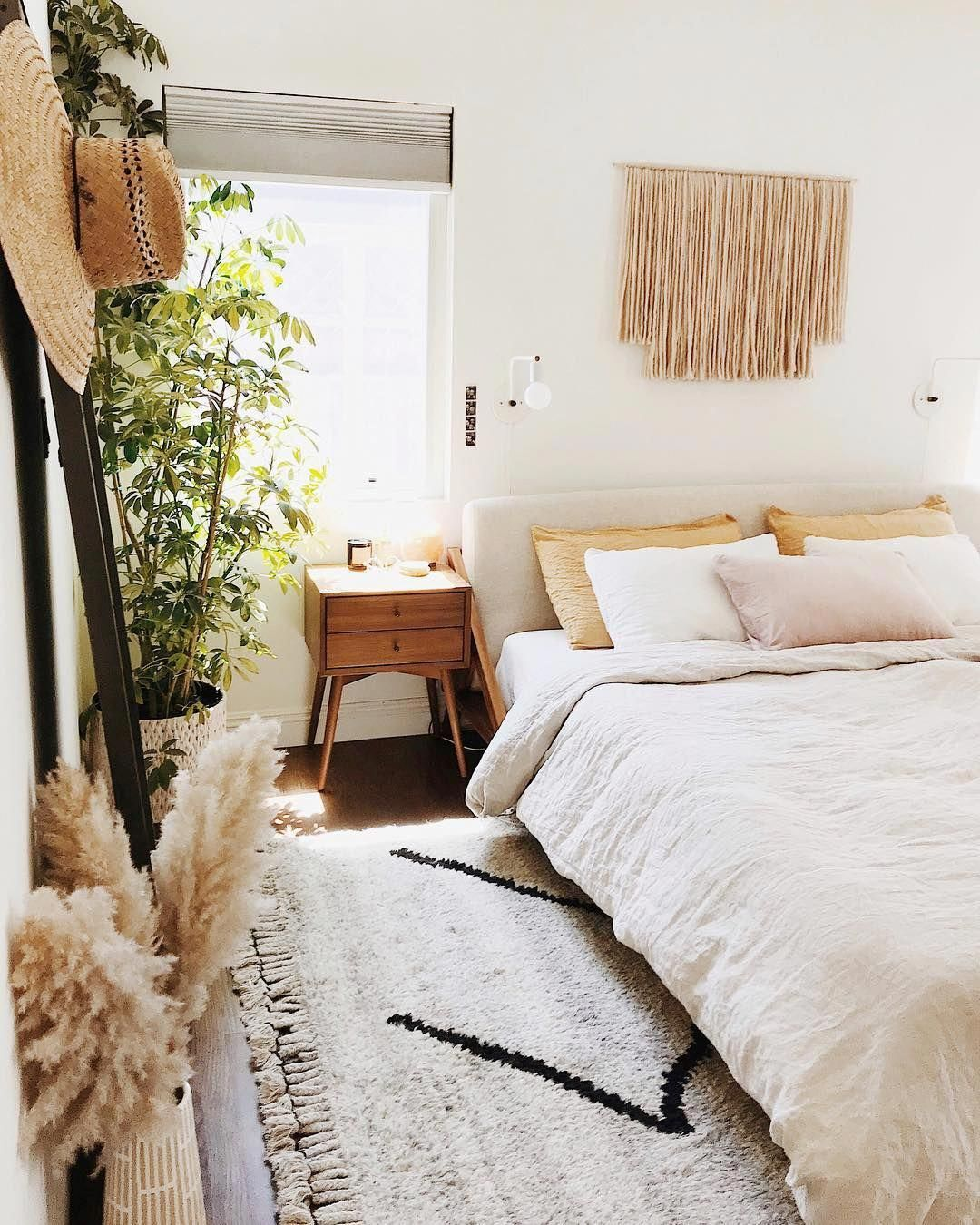boho style in your bedroom