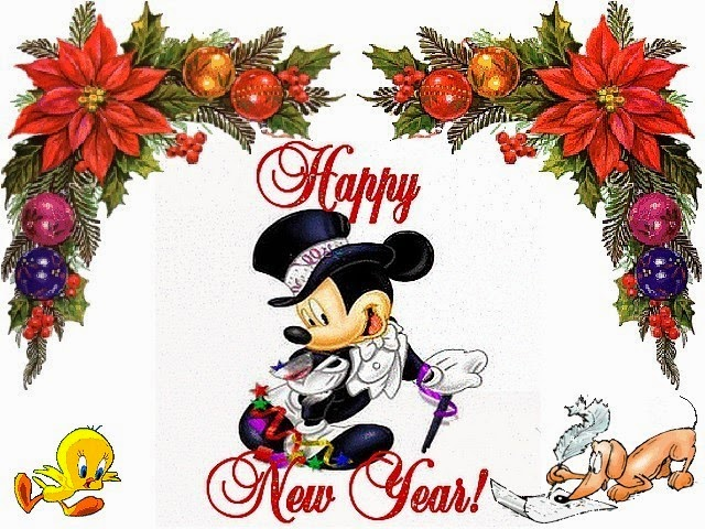 Happy New Year 2016 Cartoon Images 3D