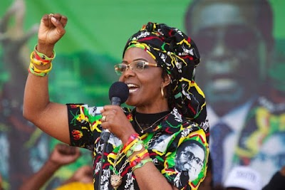 Ex-Zim First Lady, Grace Mugabe ill, flown to Singapore