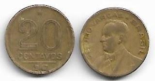 20 centavos, 1947
