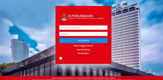 Permohonan Skim Bantuan Sewa DBKL 2019 Online