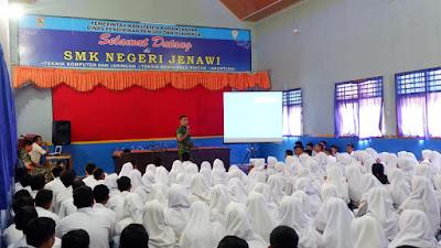 Gencar Kodim Karanganyar Sosialisasikan Pendaftaran Menjadi Prajurit TNI