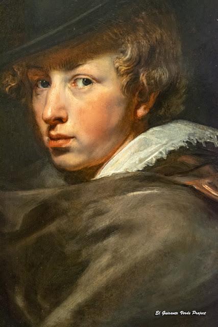 Van Dyck, autorretrato. Casa Rubens - Amberes, por El Guisante Verde Project