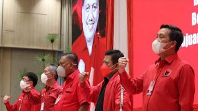 Rakerda PDIP Sulut Hasilkan Rekomendasi Capres 2024