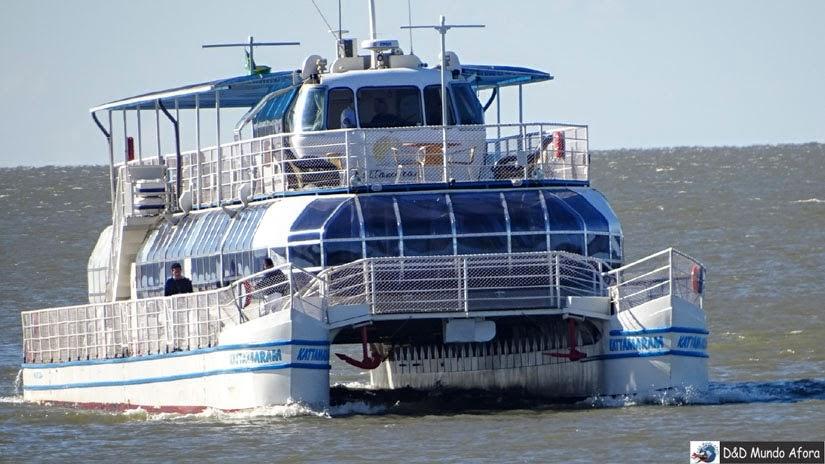 Passeio de catamarã pelo Lago Itaipu - Roteiro Foz do Iguaçu