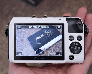 Kamera Mirrorless Canon EOS M Series di Malang