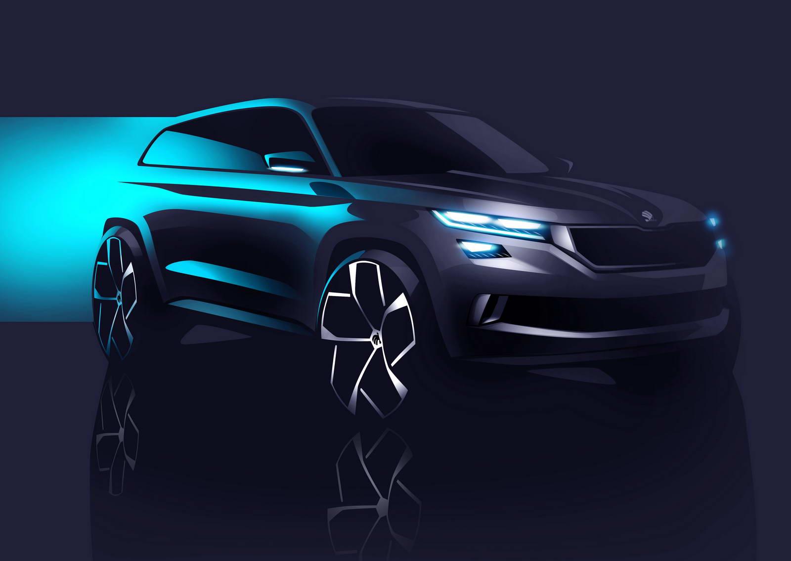 Skoda VisionS Concept 2017