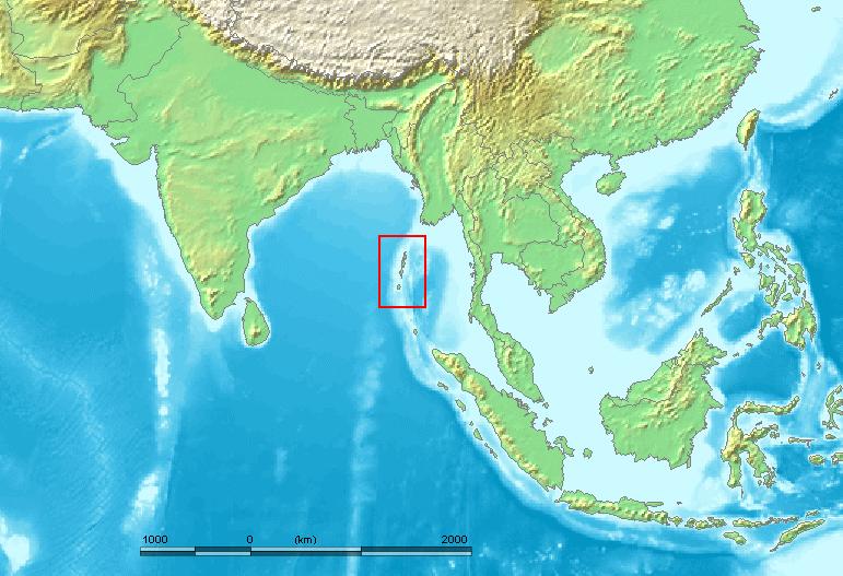 Andaman Islands Nicobar Islands