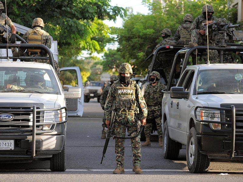 Por orden Presidencial Marina deja operaciones de seguridad en tierra