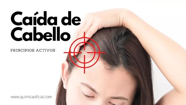 ▷ Caída de cabello remedios caseros → Lista de principios activos
