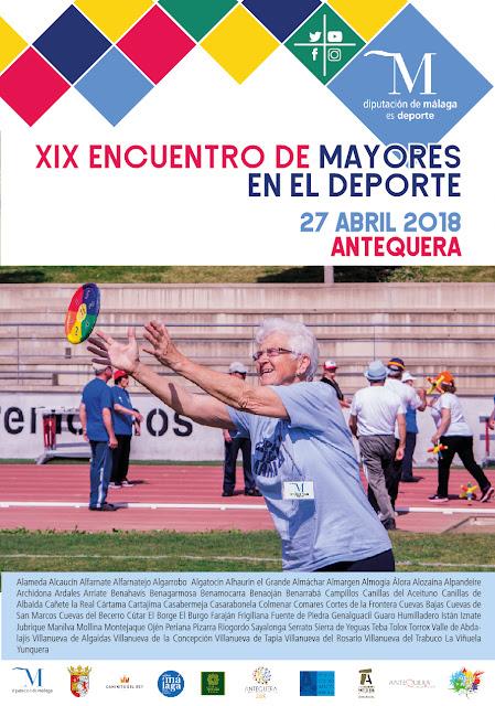 XIX Encuentro de Mayores en el Deporte en Antequera
