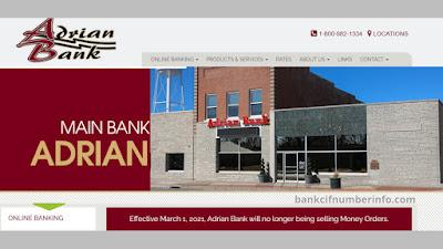 Adrian Bank Online Banking