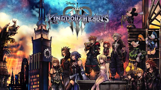 Kingdom Hearts III merajai pasar Inggris di minggu pertama.