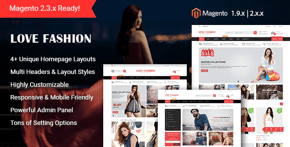 Responsive Magento 2.X Themes For Fashion Online Stores   Fashion ECommerce Templates