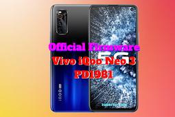 Firmware Vivo iQoo Neo 3 (PD1981)
