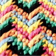 Punto Apache Tears a Crochet