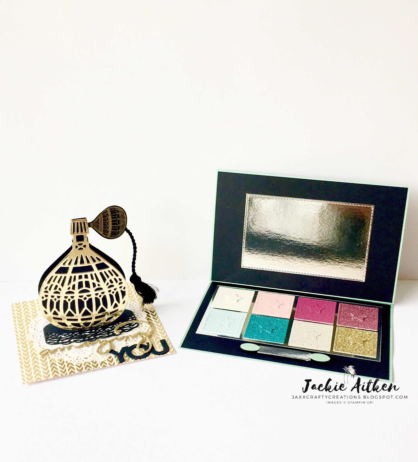 EYE SHADOW PALETTE & ATOMISER