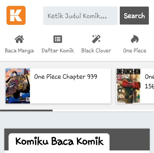 Situs Baca Komik Komiku