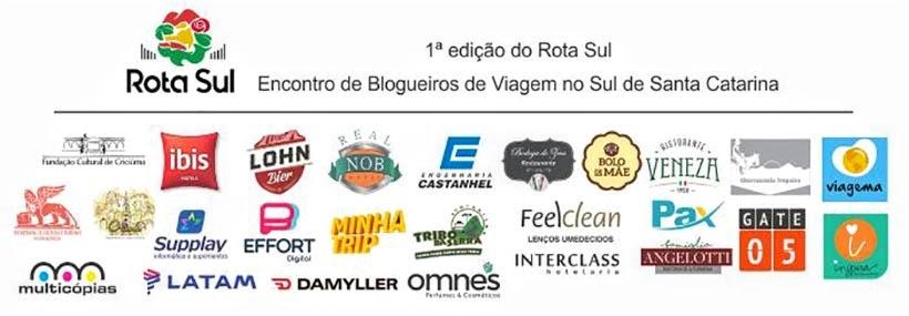 Apoiadores do Encontro Rota Sul em Santa Catarina