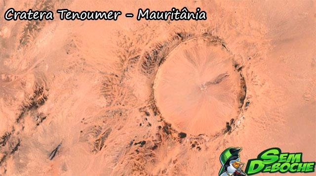 Cratera Tenoumer - Mauritânia