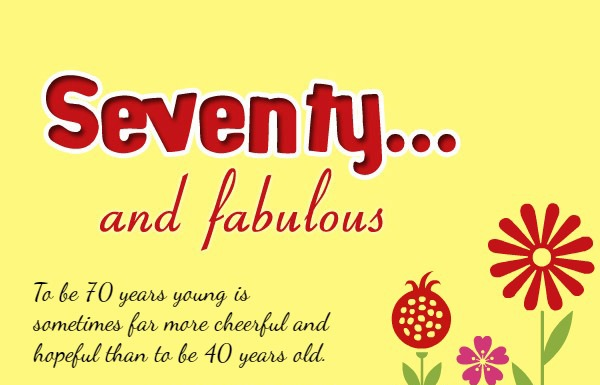 70th Birthday Wishes For Mother - Best 70th Birthday Messages for Mother
