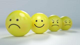 Happy & sad.