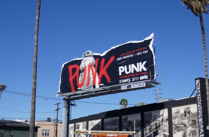 Punk docu-series billboard