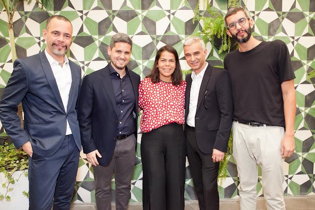Ricardo Cruz, Roni, Daniela Falcão, Sylvain Justum e Igor Barros