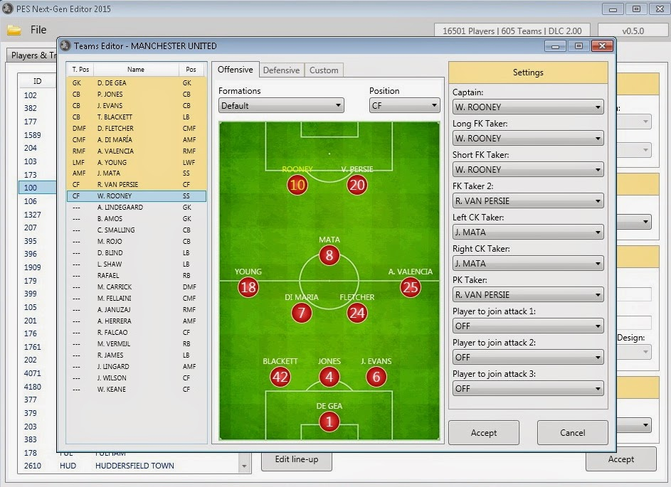 Pc Pes Next Gen Editor 2015 Alpha 0 5 0 Released 12 17 2014 Pes