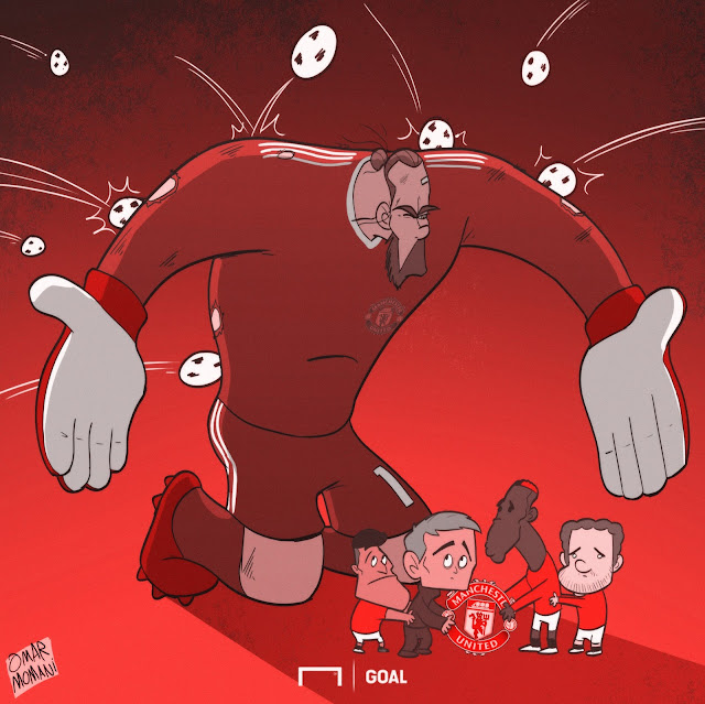 De Gea cartoon