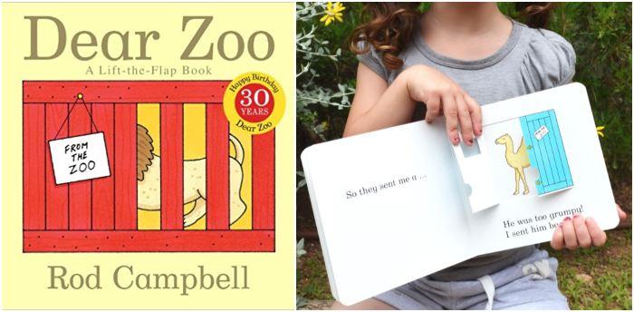 los mejores cuentos y libros infantiles en inglés Dear zoo