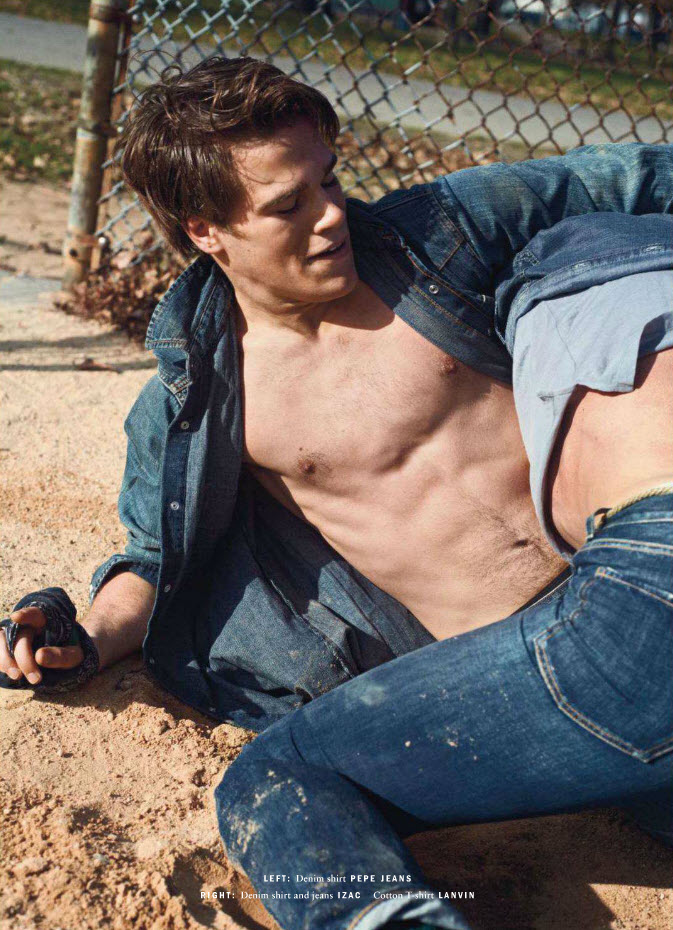 Wet Jeans Gay 75