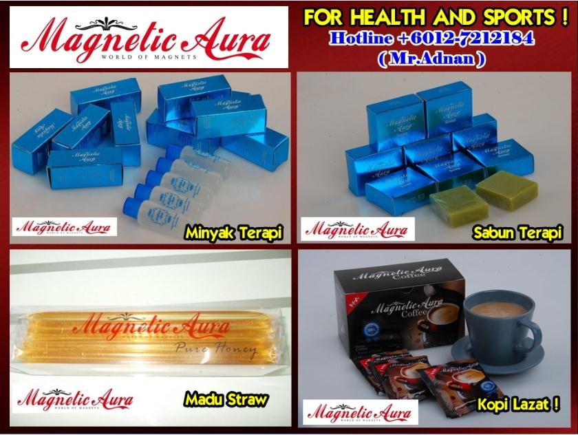 Magnetic Aura Supplement For Runners