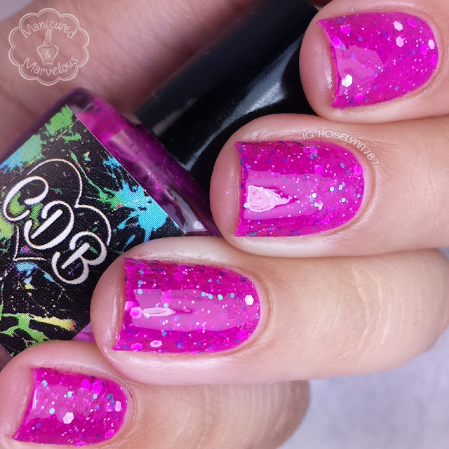 CDB Lacquer - Sassy Swimsuit
