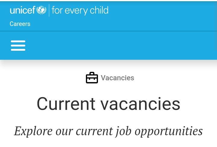 UNICEF VACANCY: Information Management Officer, NOB, Maiduguri, Nigeria (4 positions). Duration:364 days