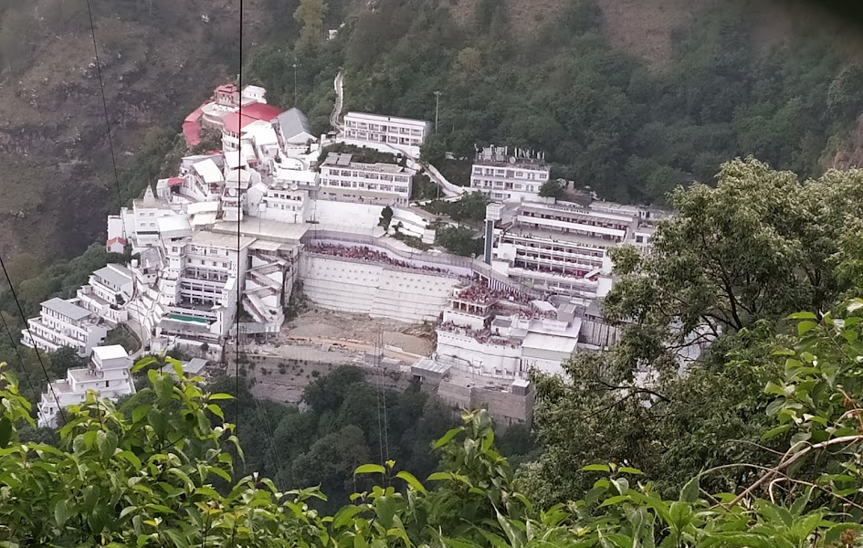Mata Vaishno Devi Mandir  IMAGES, GIF, ANIMATED GIF, WALLPAPER, STICKER FOR WHATSAPP & FACEBOOK