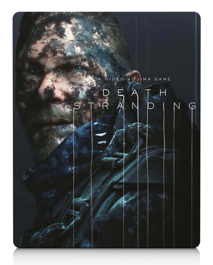 Hideo Kojima Reveals Death Stranding Cover Art & SteelBook Art At SDCC