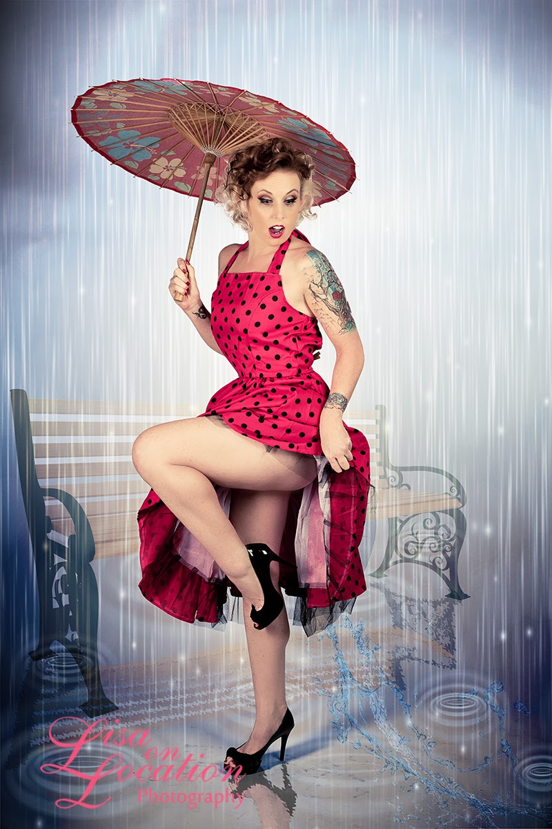 pin up on a lisa on location the anatomy of a pin up session with