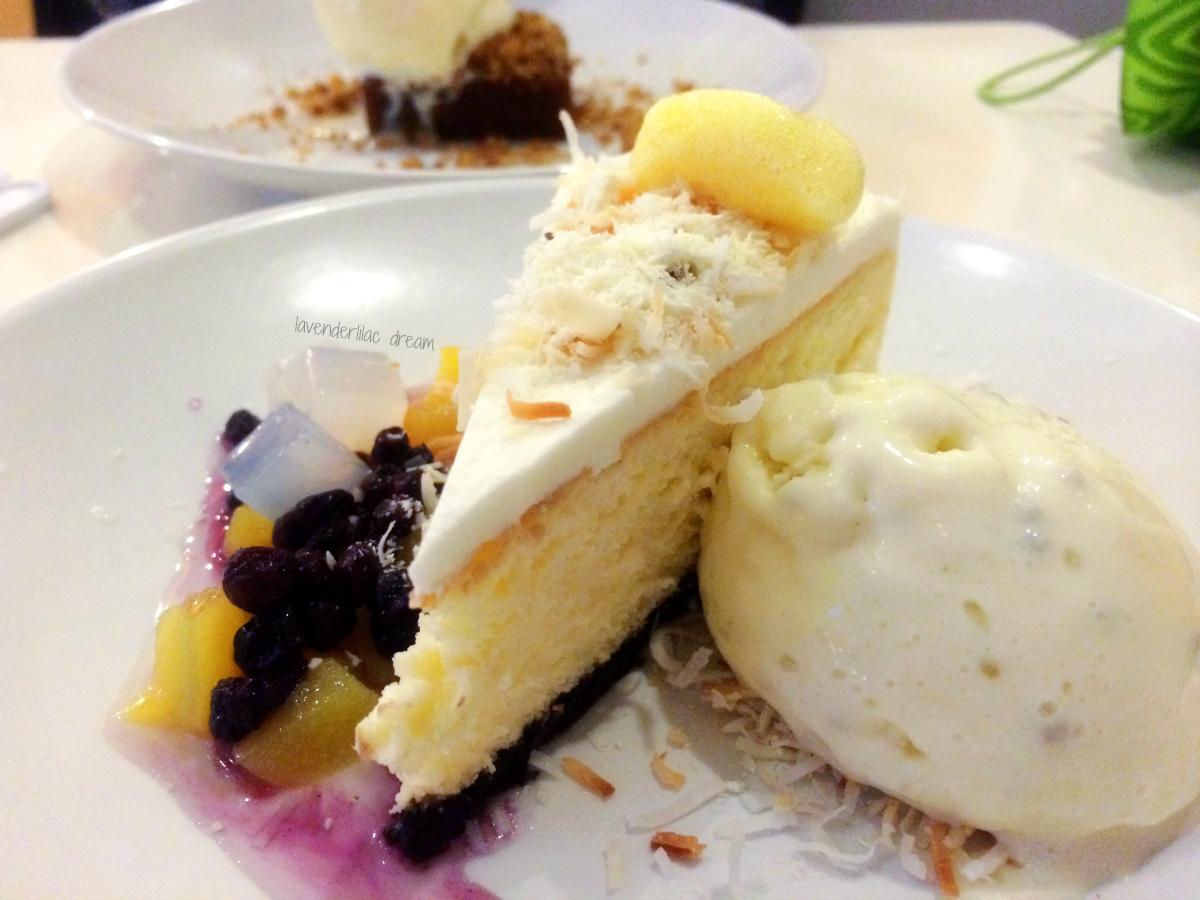 Spot Dessert Koreatown NYC Smoked Coconut Cheesecake