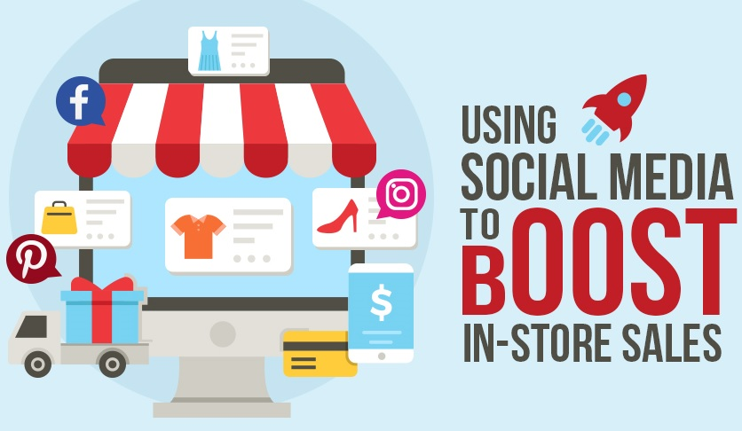 Using Social Media to Boost Store Sales