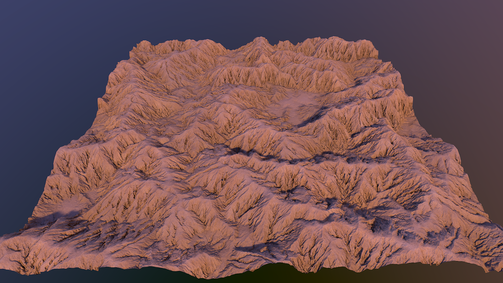 Desert mountains material PBR tessellation unreal4 unity day light setup Igor Novik 3d artist