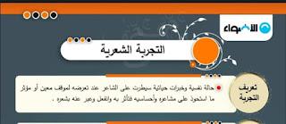 مراجعة شاملة منهج اللغه العربيه للصف الثالث الثانوي كاملاً