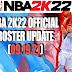 NBA 2K22 OFFICIAL ROSTER UPDATE 09.19.21