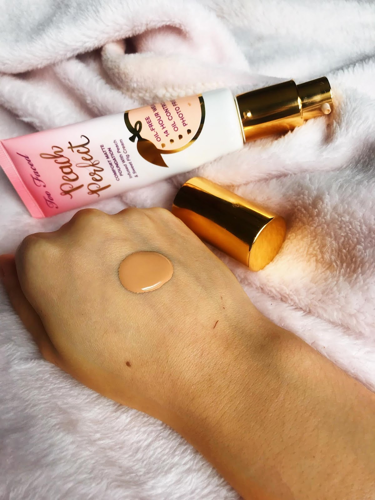 Everything's Peachy: Too Faced Foundation Review